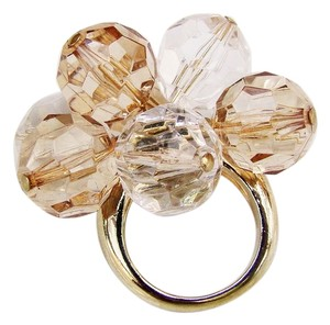 Kate Spade NEW Kate Spade New York Gold Cluster Glass Bead RingSz 7