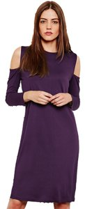 Cheap Monday short dress Plum on Tradesy