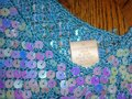 Carabella Top turquoise/sequins Image 1