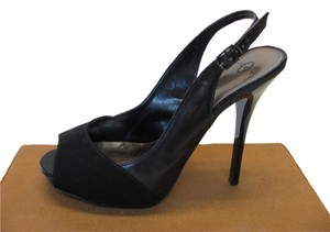 Joey O Good Condition Size 8.50 Black Platforms