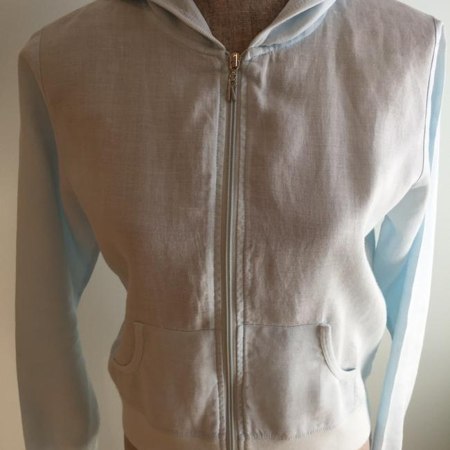 Other Linen Hoodies Size Small Size Small Hoodies Sky Blue Jacket Image 1