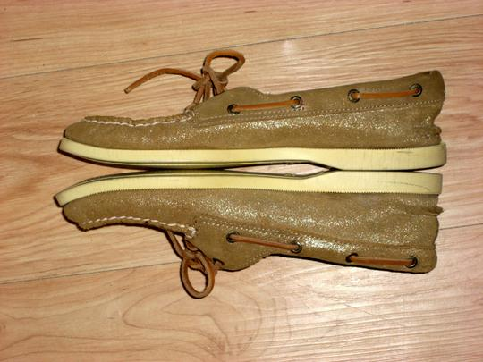 Sperry Topsider Boat Gold Flats