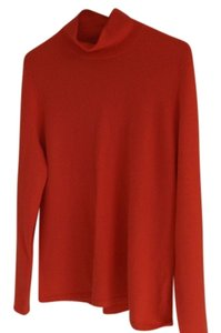 Lands' End Cashmere Red Sweater