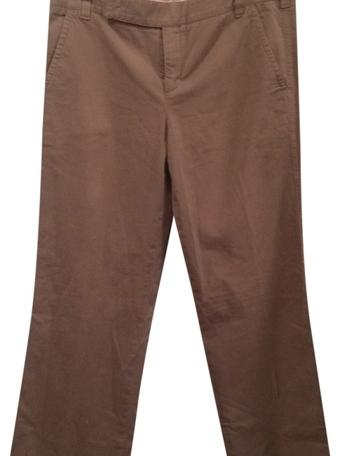 Vince Straight Pants Khaki
