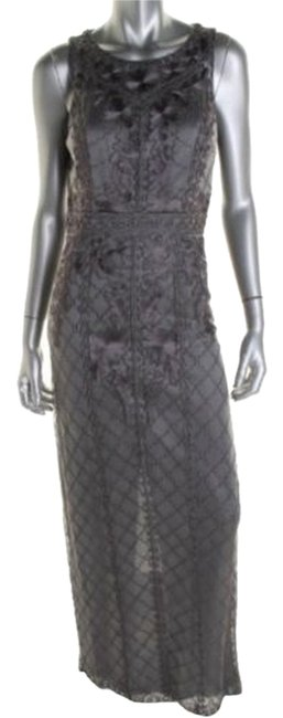 Item - Gray/Platinum Formal Dress Size 10 (M)