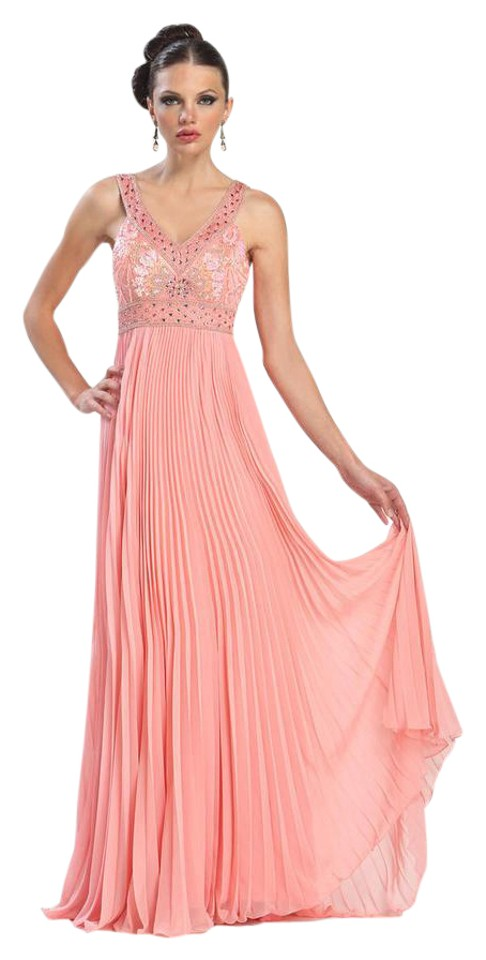 Sue Wong Pink Gown Formal Dress Size 6 (S) - Tradesy