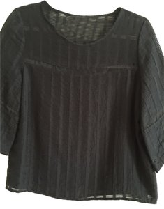 HD in Paris Night Out Top Black