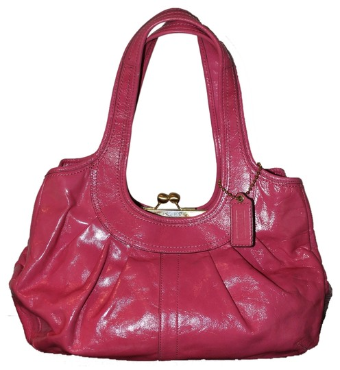 Preload https://item1.tradesy.com/images/coach-punch-pink-patent-leather-satchel-5098945-0-0.jpg?width=440&height=440
