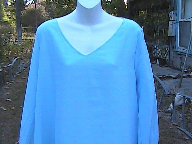 Other Casual Or Office Attire Summer Top Light Blue Image 1