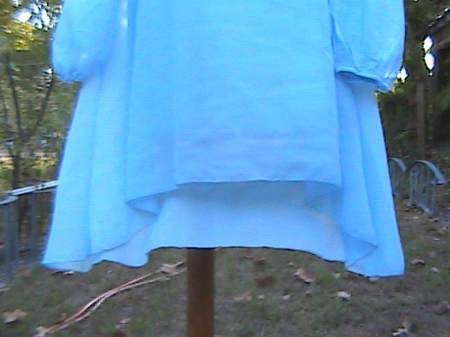 Other Casual Or Office Attire Summer Top Light Blue Image 2