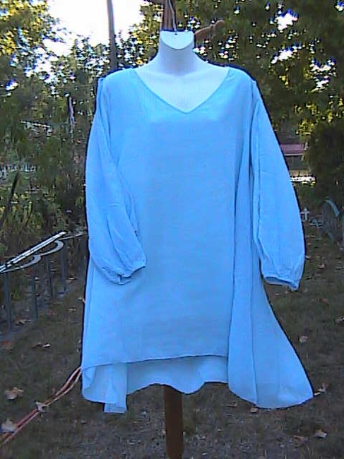 Other Casual Or Office Attire Summer Top Light Blue Image 5