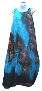 Peacock Maxi Dress by