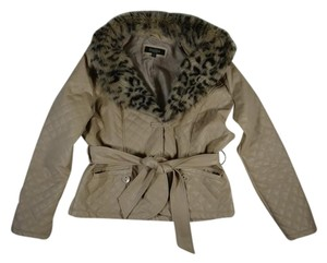 Charles River Apparel Jacket Quilted Fake Fur Detachable Inner Pocket Short Coat