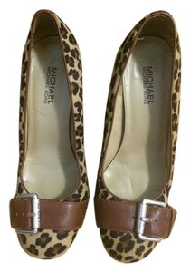 Michael by Michael Kors Leopard Pumps