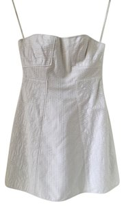 Tibi short dress White on Tradesy