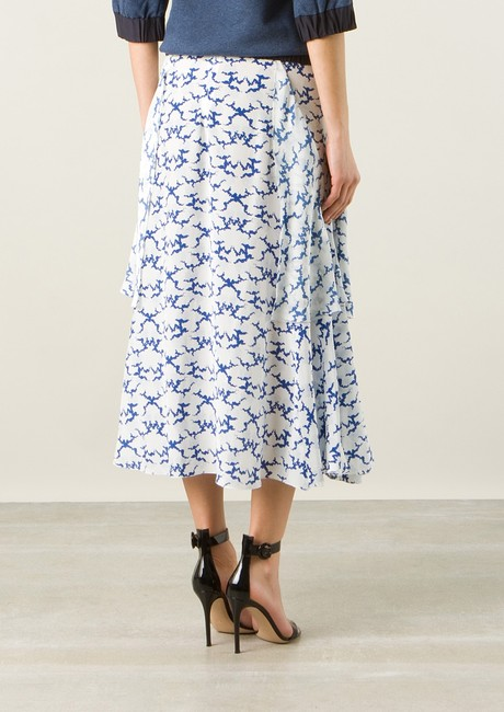 Stella McCartney Top Lace Dress Chanel Skirt White, Blue