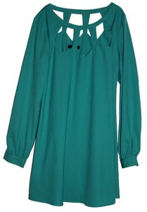 Very J short dress Teal Green on Tradesy