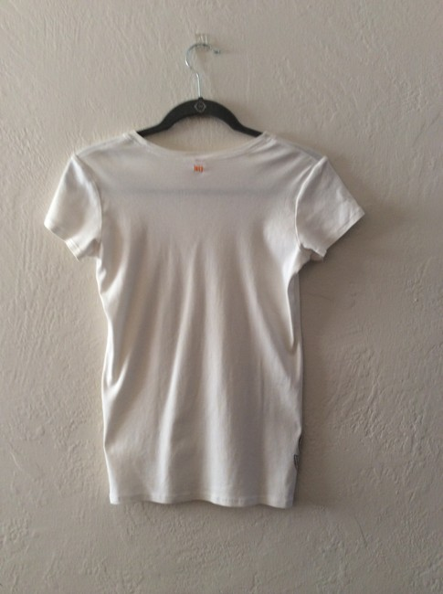lucy Yoga Cotton Active Wear T Shirt White