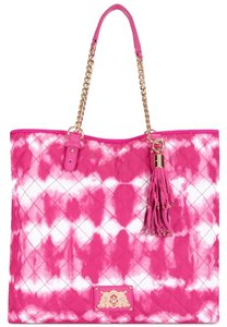 Juicy Couture Tote in Pink Tie Dye