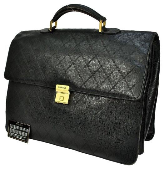Preload https://item4.tradesy.com/images/chanel-paris-briefcase-case-flap-front-documents-black-lambskin-laptop-bag-5100433-0-4.jpg?width=440&height=440