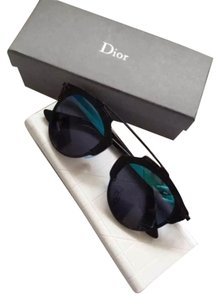 Dior Dior 'So Real' 48mm Mirrored Sunglasses Black/Blue & Grey Mirror