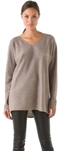 Vince Cashmere Wool Hi-low Long Sleeve Sweater