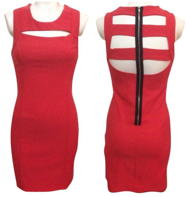 Preload https://item5.tradesy.com/images/coral-above-knee-night-out-dress-size-6-s-5101264-0-0.jpg?width=400&height=650