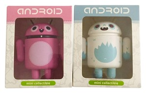 Android Mini Collectibles Android Mini Collectibles | Big Box Series 1 Yeti and Pinky
