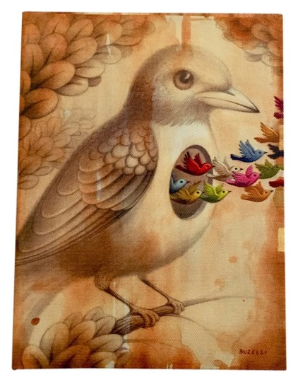 Chris Buzelli Chris Buzelli Small Birds Painting Image 1