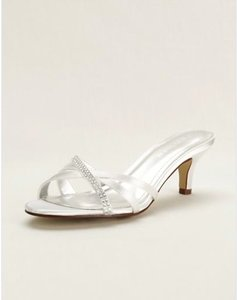 David's Bridal Riley Wedding Shoes