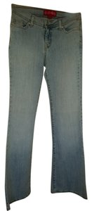 GLO Jeans Flare Leg Jeans-Light Wash