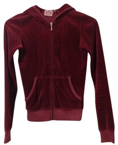 Juicy Couture Hoodie Velour Women Fitness Wear Jacket