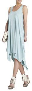 BCBGMAXAZRIA short dress Aqua on Tradesy
