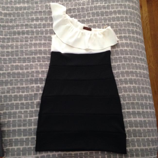 Preload https://item5.tradesy.com/images/lovely-day-black-and-white-above-knee-cocktail-dress-size-0-xs-5104219-0-0.jpg?width=400&height=650