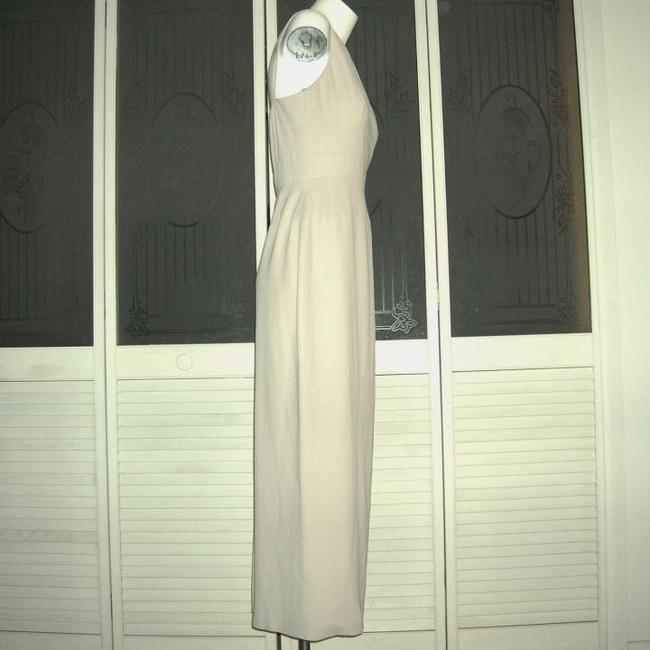 Unger-Mindel Kay Unger Gown Maxi Gown Kay Unger Beige Gown Vintage Gown Dress