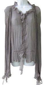 Kate Moss for Topshop Top Gray