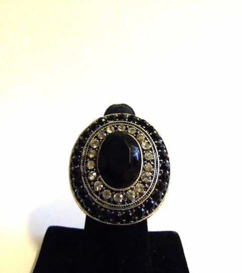 Other Black Crystal Stretch Ring