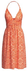 The North Face short dress Orange on Tradesy