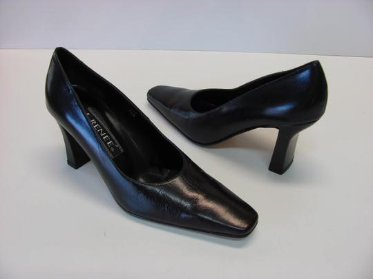 J. Renee Very Good Condition Size 7.50 Black Pumps