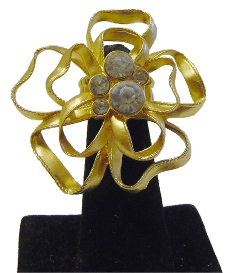 Other Golden Crystal Stretch Ring