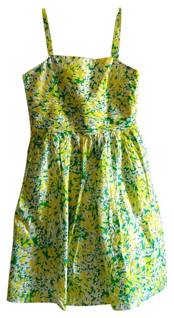 Preload https://img-static.tradesy.com/item/5106124/donna-ricco-yellow-sundress-above-knee-short-casual-dress-size-8-m-0-0-650-650.jpg