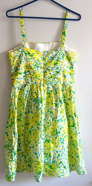 Donna Ricco short dress Yellow Sun Cotton Floral on Tradesy