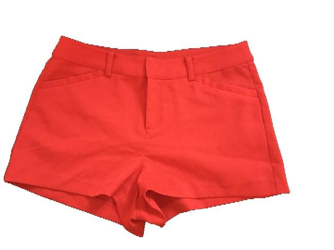 Divided by H&M Micro- Ultra Mini/Short Shorts Red