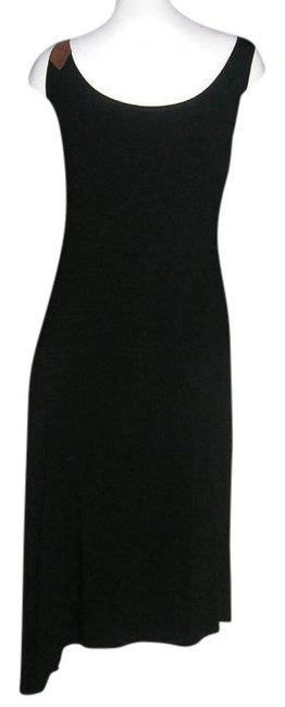 Derek Green short dress Black Asymmetrical Tank Angle High Low Trapeze on Tradesy