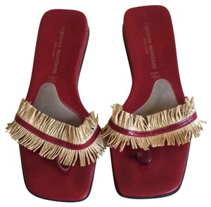 Sigerson Morrison Deep Red Sandals