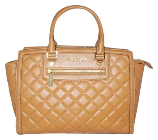 Preload https://item5.tradesy.com/images/michael-kors-selma-large-top-brown-walnut-quilted-leather-satchel-5106739-0-4.jpg?width=440&height=440
