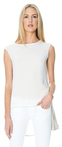 Sandra Weil Beige Top Off White