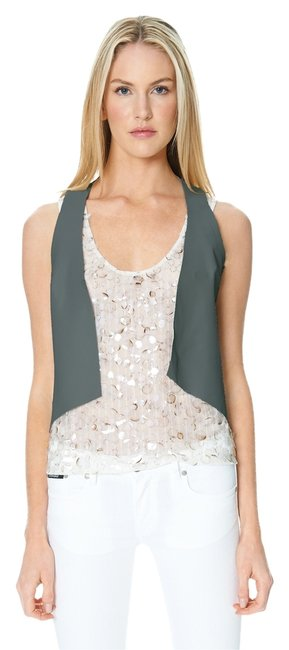Sandra Weil Leather Vest