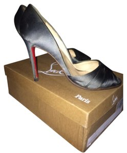 Christian Louboutin Pewter Formal