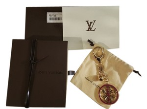 Louis Vuitton BNWT Discontinued Louis Vuitton Whirly Flower Bag Charm Indian Rose